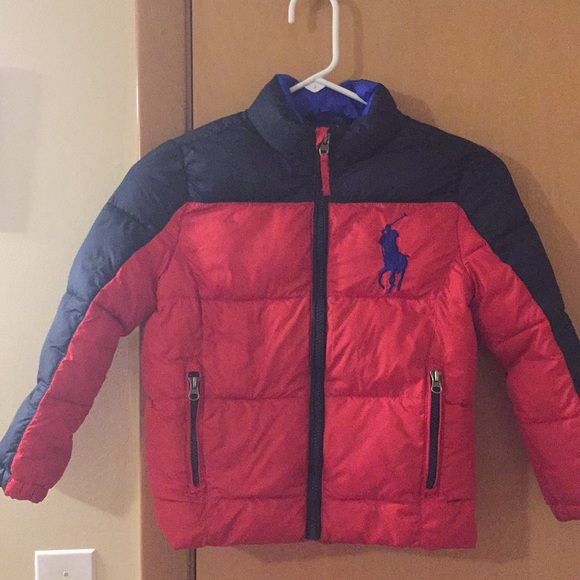 98c05e69fa7c Polo Ralph Lauren boys puffer jacket size 6. M 5ab6e3965521bee119a8ad93